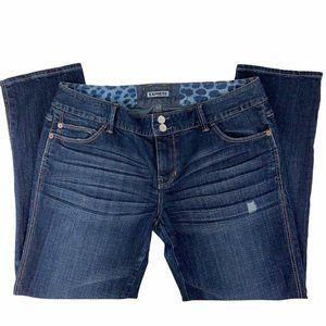 Express Jeans Size 8 Modern Boyfriend Relaxed Fit
